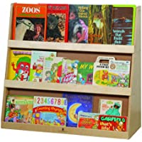 Steffy Wood Products Book Display with Rear Shelves
