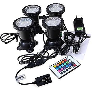 Led 1 36 Etanche Geediar Lampe Ampoule Submersible Spot eWYEDH2I9