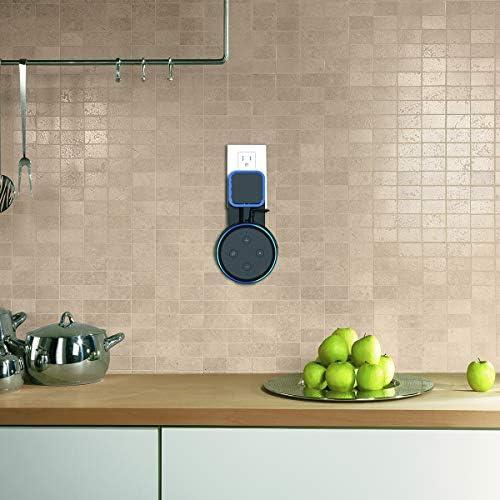 SPORTLINK Soporte para Dot (3.ª generación), Gestión de Cables incorporada, sin Tornillos en Las cocinas, baño y Dormitorio (Negro) 8