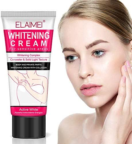 Whitening Cream,Underarm Lightening Cream for Body, Armpit, Knees, Elbows, Private Parts, Skin Lightening & Nourishing, Natural Skin Care, 60ml
