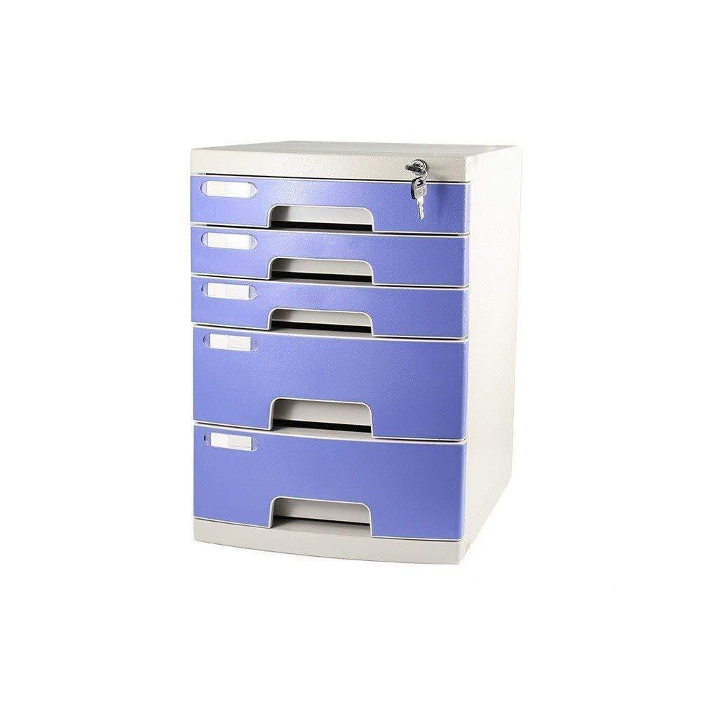 Office Supplies 29.5X39.4X32.5CM,29.5X39.4X43CM File Cabinets Storage Unit Organizer Multi-Layer Drawers File Cabinet Adopts Lock Door Design Durable Plastics Office Supplies Plastic