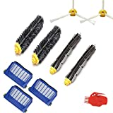 SODIAL Replenishment Mega Kit for iRobot Roomba 500 600 riesVacuum Cleaning Robot replacement parts