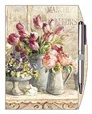 Legacy Lined Journal with Pen, Marche Des Fleurs (LJO7847)