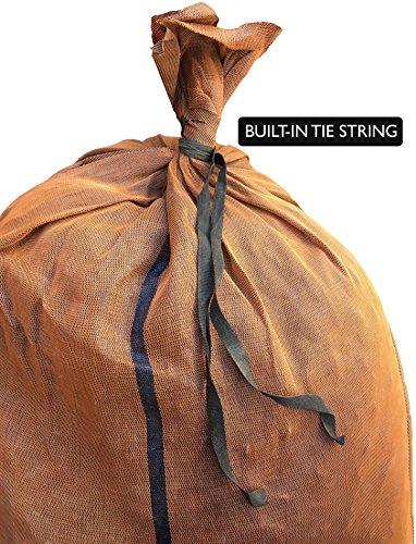 Sandbaggy - 17'' x 27'' Long-Lasting Sandbags - Brown Color - Lasts 1-2 Yrs - Monofilament (Pack of 100) by Sandbaggy (Image #3)