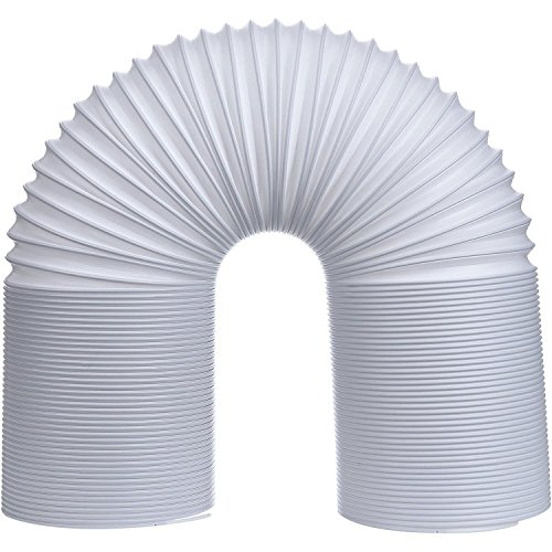 (Hotop Portable Air Conditioner Exhaust Hose 5 Inch Diameter Counterclockwise (59 Inch Length))