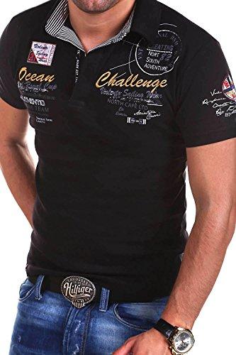 Shirt shirt R Styles T Mt 2728 Challenge Polo Noir 4ARq5Lj3cS