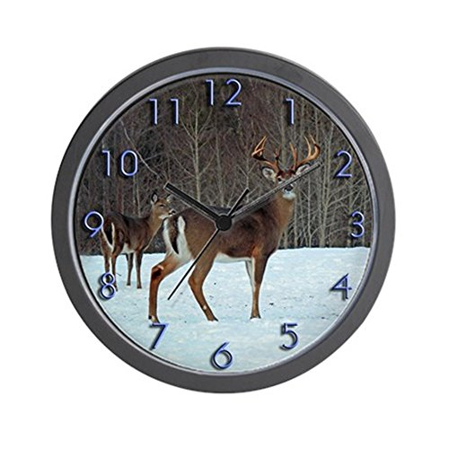 CafePress - Buck & Doe Wall Clock - Unique Decorative 10