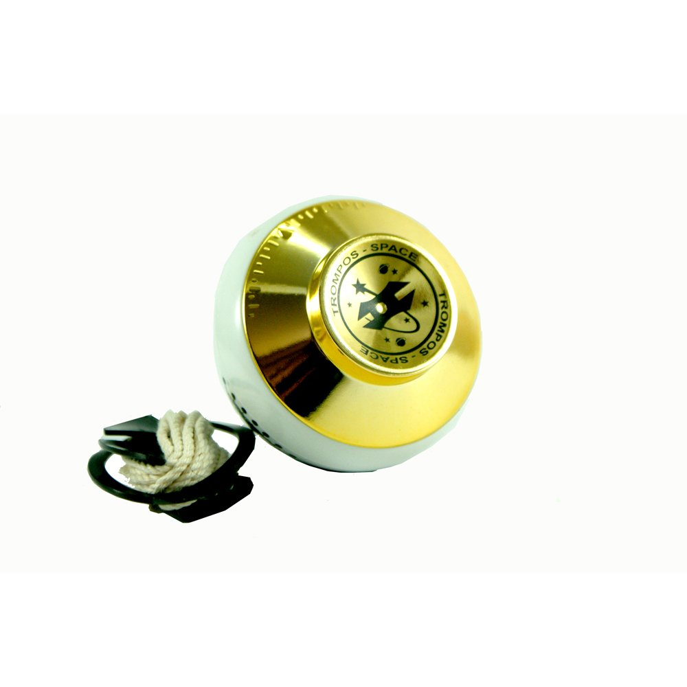 Trompos Space SL Spin Top Jupiter Roller - Bearing Tip SpinTop (Gold)