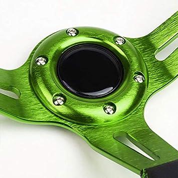 350MM 3 Purple Tri-Spoke//Purple Stripe Steering Wheel+Black 6-Hole Hub Adapter+Neo Chrome Quick Release For 626//RX7//RX8//Miata//Accent//Genesis