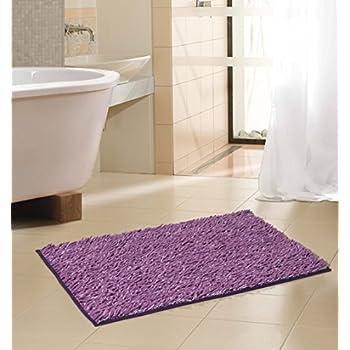 Amazon Com Royal Purple Soft Chenille Noodle Floor Bath