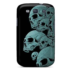 Cute High Quality Galaxy S3 Skulls Case