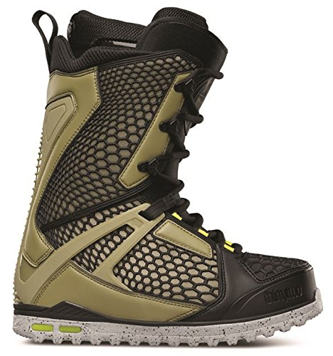 - ThirtyTwo Team Two Snowboard Boots, Green/Black, Size 8.5
