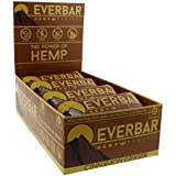 EverBar Protein Bar - Cinnamon Ginger - 16 Bars - ONLY 9 Ingredients - 12g of Protein - Clean Energy Meal Replacement - Gluten-Free, Non-GMO, Dairy Free, Soy Free - Hemp Protein