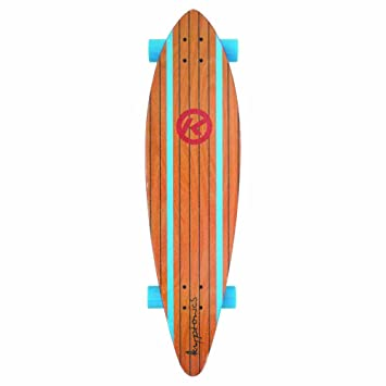 Kryptonics Longboard Through - Monopatín con rodamientos ABEC 5, Skateboarding, Longboard 37 Zoll Drop-Through Skateboarding Skaten Outdoor Board-Surf City, ...