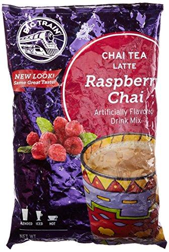 Big Train Raspberry Chai Latte, Two 3.5lb. Bags