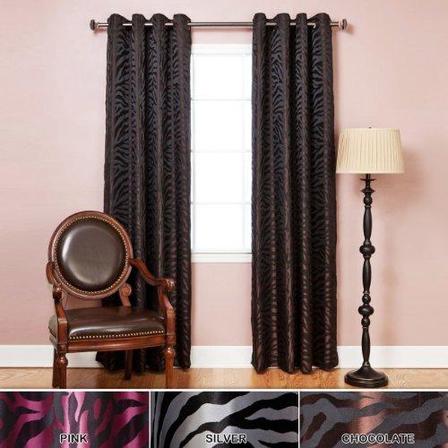zebra curtain panels - 7