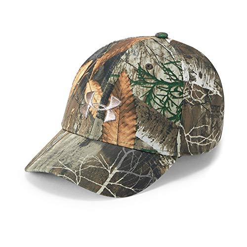 (Under Armour Women's Camo Snapback Cap, Realtree Edge (991)/Metallic Beige, One Size)