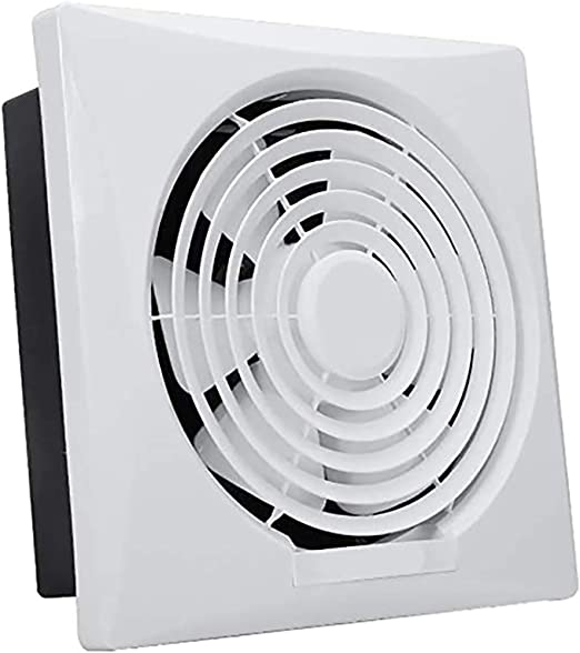 10/12 Pulgadas Ventana Ventilador, Cocina Hogar Wall Tipo de Gran Alcance silencioso de Escape Ventilador, Aseo Impermeable y Durable Ventilador de ventilación,12 Inch: Amazon.es: Hogar