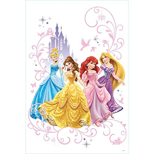 RoomMates Disney Princess Wall Graphix Peel And Stick Giant Wall Decals -