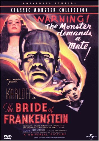 Image result for bride of frankenstein dvd