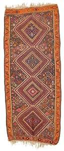 Alfombra kilim kars 135x320 alfombra oriental pasillo for Alfombras comedor amazon