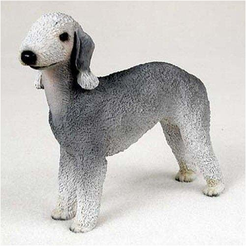 Bedlington Terrier Figurine (Bedlington Terrier Original Dog Figurine (4in-5in))