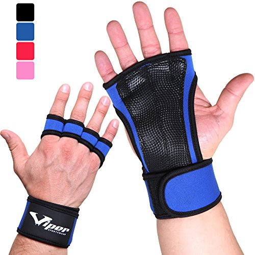 Crossfit Gloves Hand Grips - Suitable for Pull Up Bar, Gym, Weightlifting,...