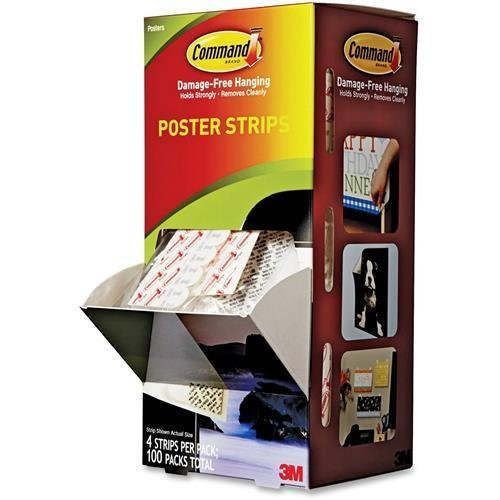 Command Strips, Poster, Cabinet Pack (17024CABPK) Comma-17024CABPK