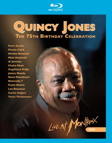 Quincy Jones: The 75th Birthday Celebration - Live at Montreux [Blu-ray]