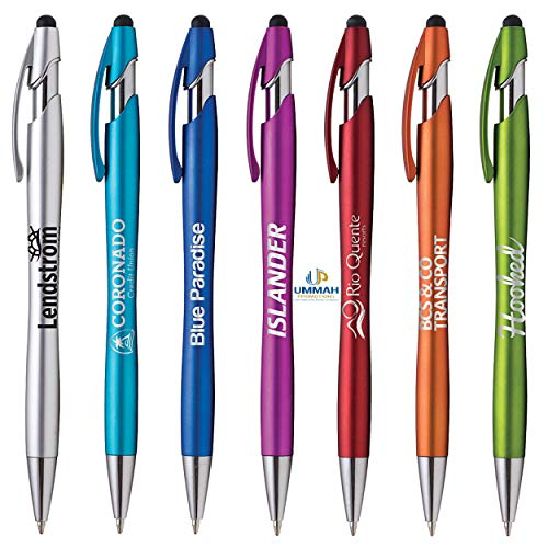 250 Promotional La Jolla Stylus Pen Printed With Your Logo, Company Info or ()