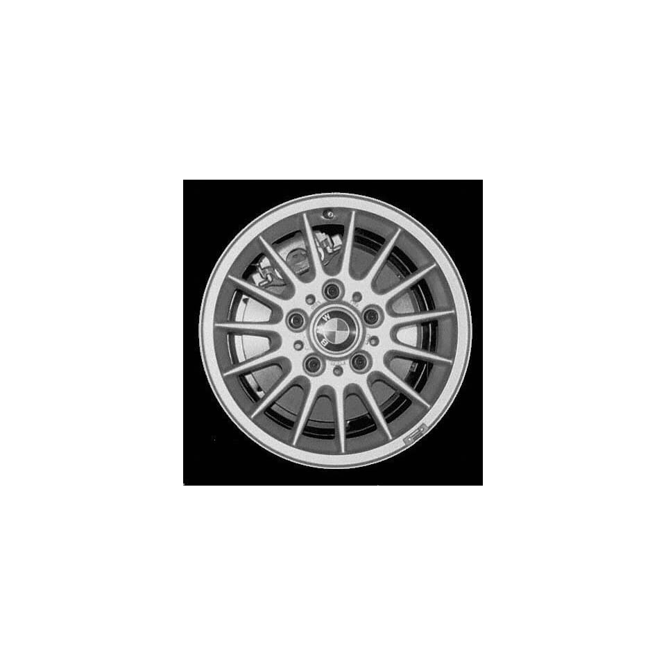 95 96 BMW 318IS 318 is ALLOY WHEEL RIM 15 INCH, Diameter 15, Width 7 (15 VANE), 47mm offset Style #32, SILVER, 1 Piece Only, Remanufactured (1995 95 1996 96) ALY59266U10