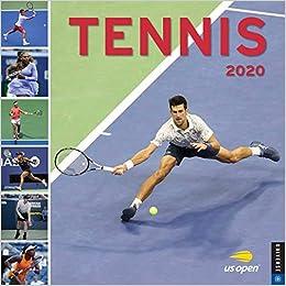 Tennis Calendar 2020 Tennis 2020 Wall Calendar: The Official U.S. Open Calendar: United