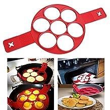 Flippin Fantastic Utensil Cookery Molds Pancakes Molds Egg Ring Kitchen Tool
