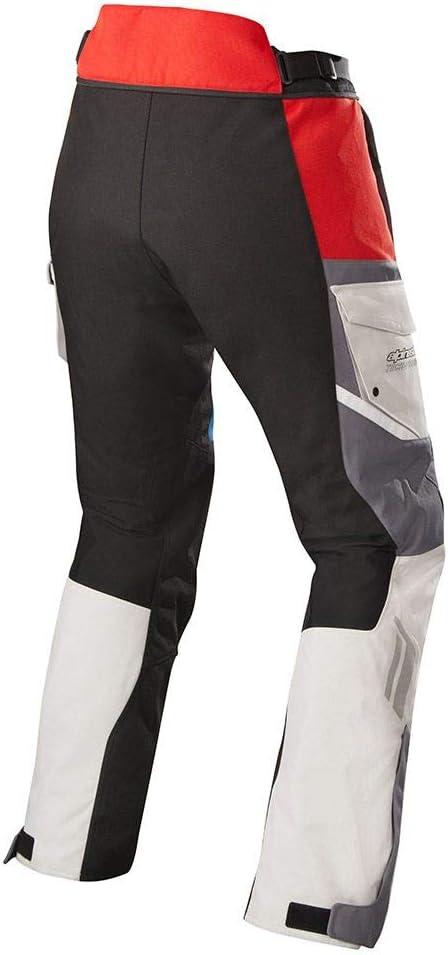 Pantalones para motorista Alpinestars Honda Andes v2 Drystar color negro y rojo talla M
