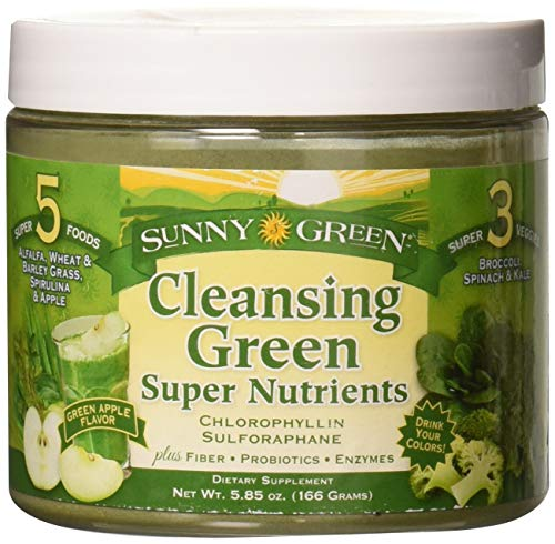 (Sunny Green Cleansing Super Nutrients, 5.85 Ounce)