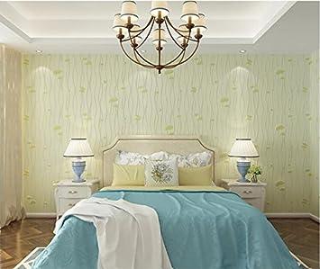 Yosot Simple Frais Et Moderne Non Tisse Papier Peint Chambre A