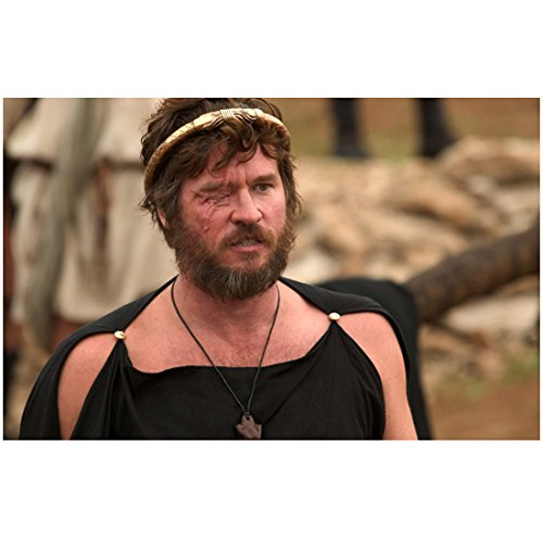 Val Kilmer As Phillip in Alexander, Missing Eye with Scar Black Top Movie Still 8 X 10 Inch Photo