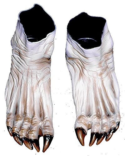 Monster Feet Flesh Costume White]()