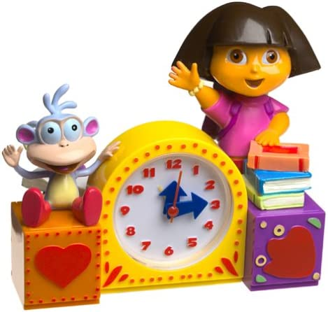 Dora The Explorer Play-Time Singing Alarm Clock