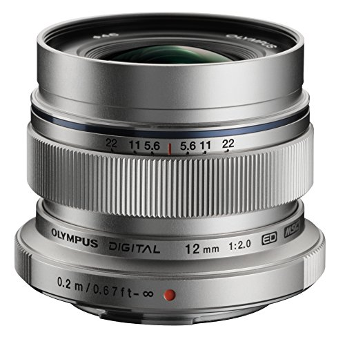 Olympus M. Zuiko Digital ED 12mm f/2.0 Lens for Micro Four Thirds Cameras  - International Version (No Warranty)