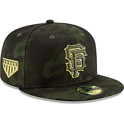 New Era San Francisco Giants 2019 MLB Armed Forces Day On-Field 59FIFTY Fitted Hat - Camo