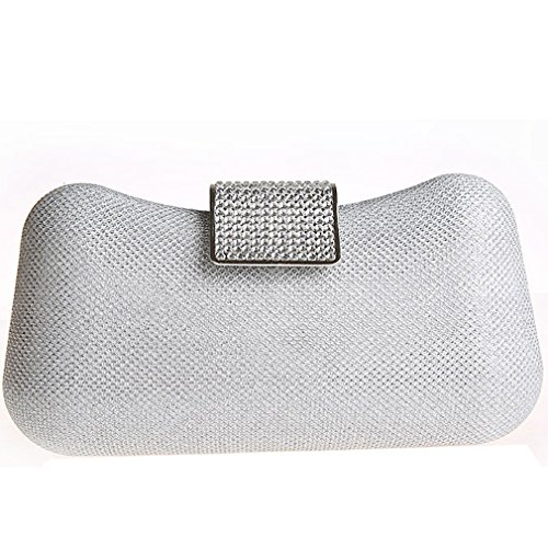 black Clutch Women's Belsen Silber Black Belsen Women's wtUqqXp