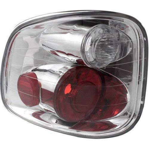 Garage-Pro Tail Light for FORD F-150 01-04 LH Lens and Housing Flareside Regular/Super Cab w/Lightning Model