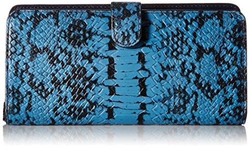 Womens Exotic Skinny Wallet Clutch