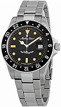 Mathey Tissot Rolly Vintage Automatic Black Dial Men's Watch