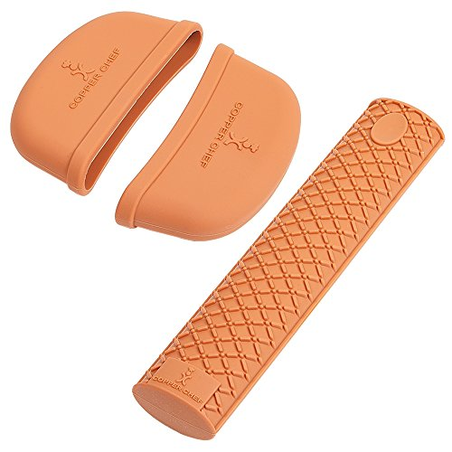 Copper Chef Gourmet Silicone Handle Set 3 Pcs by Copper Chef (Image #5)