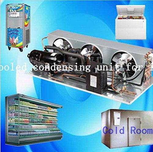 Gowe Air Cooled Brennwertgeräte Einheit für Ice creamcold Zimmer Kompressor für Fleisch Obst Meeresfrüchte Frischhalten