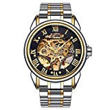 Steel Strap Watches for Men Tronet FNGEEN Water Resistant Stainless Steel Watch Automatic Mechanical Men Watch