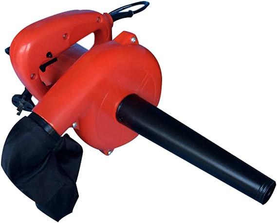 Soplador De Hojas EléCtrico con Bolsa De Basura/Aspiradora - EliminacióN De Polvo De Alta Potencia 600w - Nuevo Material De Abs - BotóN De Bloqueo - Cambio De Velocidad Continua - Cable