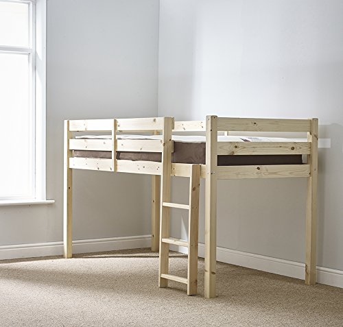 e4fa57550394 Cabin bed - HEAVY DUTY 3ft single midi sleeper - ladder moves to the left  or right